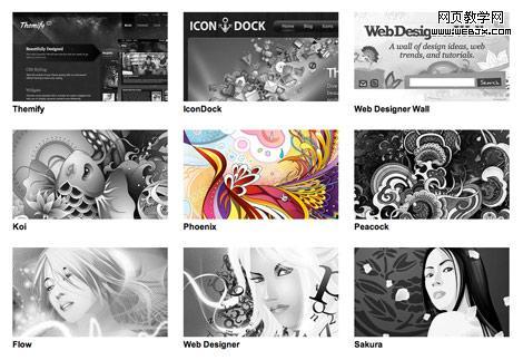 HTML5和jQuery制作網頁灰度圖片懸浮效果   教程